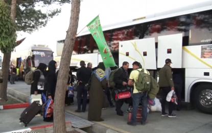 ورود ۸۰۰ زائر اتباع خارجی به پایانه مرزی بیله سوار