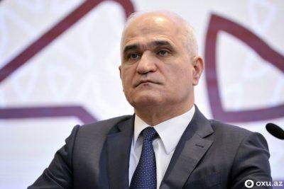 شاهین مصطفی یف معاون نخست وزیر آذربایجان شد