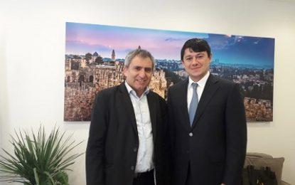 دیدار دوجانبه هیاتی از جمهوری آذربایجان با مقامات صهیونیستی