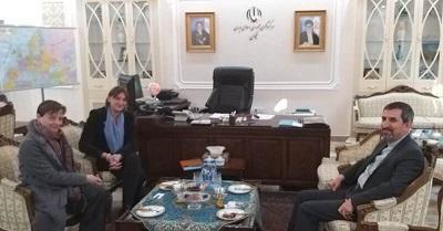 دیدار رییس دفتر صلیب سرخ جمهوری آذربایجان با سرکنسول ایران در نخجوان