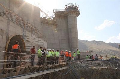 سدسازی ترکیه بر روی رود ارس و خطر تشدید بحران آب در ایران و جمهوری آذربایجان / تصاویر