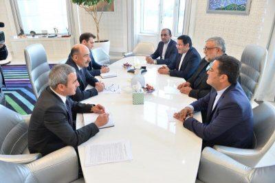 دیدار وزیر فرهنگ جمهوری آذربایجان با رییس سازمان فرهنگ و ارتباطات اسلامی