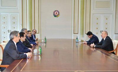 دیدار رئیس سازمان فرهنگ و ارتباطات اسلامی با رئیس جمهور آذربایجان