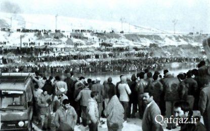 یادی از روزهای همبستگی مردم مسلمان جمهوری آذربایجان با ایران/ برهان حشمتی