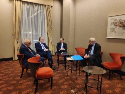 دیدار وزرای خارجه جمهوری آذربایجان و ارمنستان در پایتخت اسلواکی