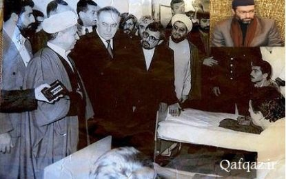 رهبر محبوس حزب اسلام آذربایجان: شهید سلیمانی در زمان جنگ قره باغ کمک های شایانی به جمهوری آذربایجان کرد/ فیلم