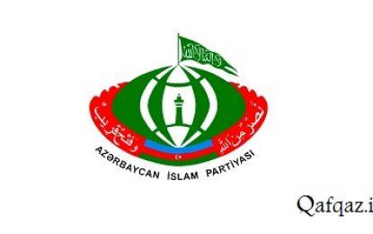 موضع حزب اسلام آذربایجان نسبت به توافقنامه صلح میان جمهوری آذربایجان، ارمنستان و روسیه