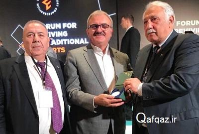 رئیس فدراسیون ورزشهای پهلوانی جمهوری آذربایجان: ایران امنیت بسیار بالایی دارد