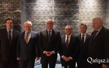 دیدار وزرای خارجه جمهوری آذربایجان و ارمنستان در ژنو