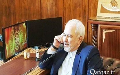 گفتوگوی تلفنی وزرای خارجه ایران و جمهوری آذربایجان