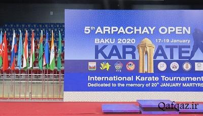 آغاز مسابقات بین المللی کاراته با حضور ایران در باکو