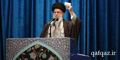 رهبر معظم انقلاب: تشییع پیکر مطهر حاج قاسم سلیمانی و حمله موشکی به پایگاه آمریکا از ایام الله است