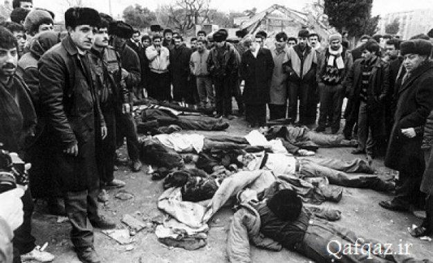 گرامیداشت یاد قربانیان حادثه ۲۰ ژانویه در تبریز / فیلم