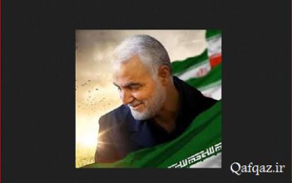 تصویر حاج قاسم؛ هدیه شیعیان جمهوری آذربایجان برای رهبر انقلاب