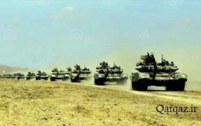 جمهوری آذربایجان بدنبال برگزاری رزمایش زمینی