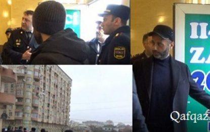ممانعت پلیس جمهوری آذربایجان از برگزاری مراسم دیدار مردمی با شیخ حسنلی / تصاویر