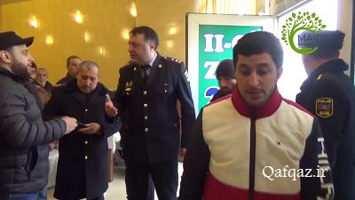 ممانعت پلیس از برگزاری مراسم دیدار مردمی با شیخ سردار حسنلی / فیلم