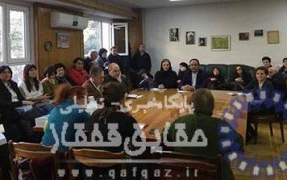 برگزاری نشست رونمایی از کتاب دستور زبان فارسی معاصر برای گرجی زبانان