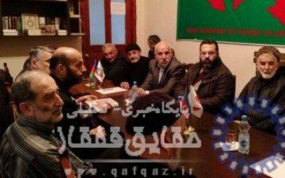 شخصیت های سیاسی- اجتماعی جمهوری آذربایجان خواهان آزادی فوری سرپرست حزب اسلام آذربایجان شدند / تصاویر