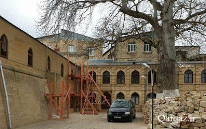 بازسازی مسجد جامع شهر دربند در جنوب داغستان / تصاویر