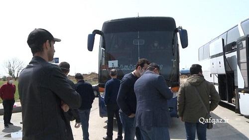 بازگشت چهارمین گروه ایرانیان مقیم باکو به کشور