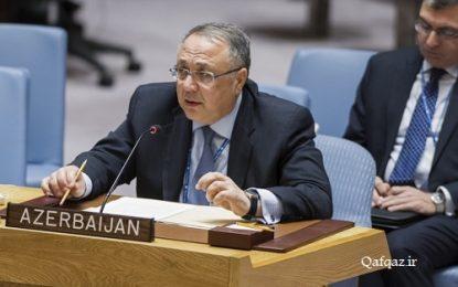 نامه ی نماینده دائم جمهوری آذربایجان به دبیرکل سازمان ملل متحد؛ محکومیت برگزاری انتخابات غیرقانونی در منطقه اشغالی قره باغ