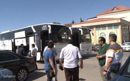 انتقال پنجمین گروه مسافران ایرانی از جمهوری آذربایجان به کشور