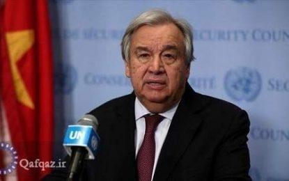 درخواست سازمان ملل از جمهوری آذربایجان و ارمنستان برای توقف تنش ها