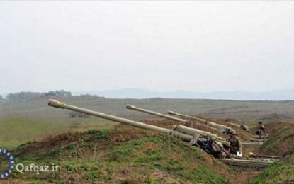 حملات توپخانه ای نظامیان ارمنستان به روستاهای جمهوری آذربایجان