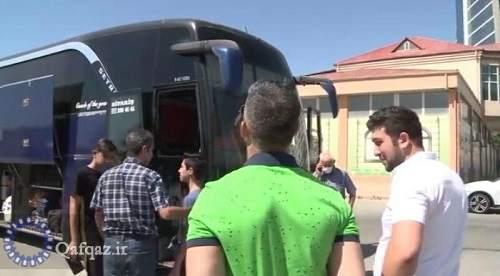 انتقال هشتمین گروه مسافران ایرانی از جمهوری آذربایجان به کشور