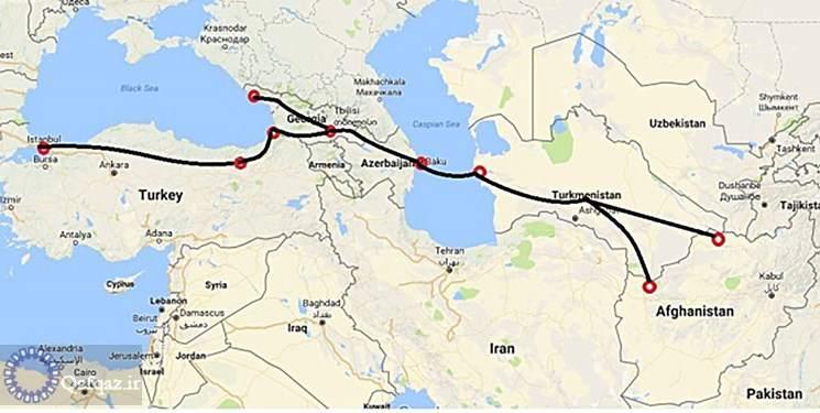 بررسی همکاری های ترانزیتی رؤسای جمهور ترکمنستان، آذربایجان و افغانستان