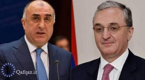 گفت و گوی  وزرای خارجه جمهوری آذربایجان و ارمنستان درباره راه حل مناقشه قره باغ