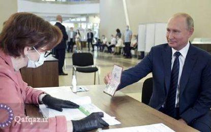 موافقت مردم  روسیه با ادامه ریاست جمهوری پوتین