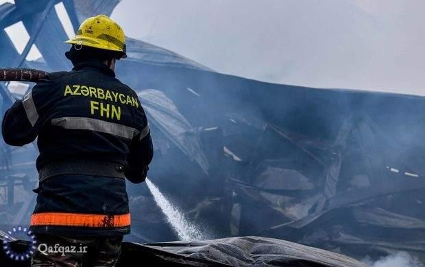 آتش سوزی در کارخانه اتیلن – پلی اتیلن جمهوری آذربایجان
