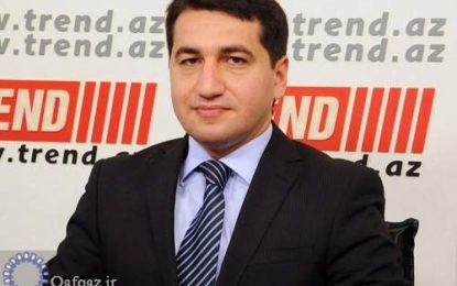 انتقاد از سیاست های مخرب ارمنستان در منطقه از سوی جمهوری آذربایجان