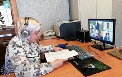 استقبال مردم آذربایجان از آموزش آنلاین زبان فارسی