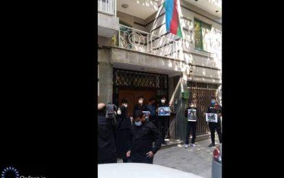 برگزاری مراسم چهلم شهدای جمهوری آذربایجان در تهران/عکس