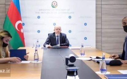 تاکید وزرای نیرو ایران و جمهوری آذربایجان بر گسترش همکاریهای دوجانبه