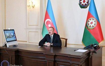 علی اف: باکو آماده برگزاری مذاکرات آتشبس قرهباغ است