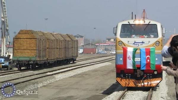 افزایش صادرات کالا از پایانه ریلی آستارا به جمهوری آذربایجان