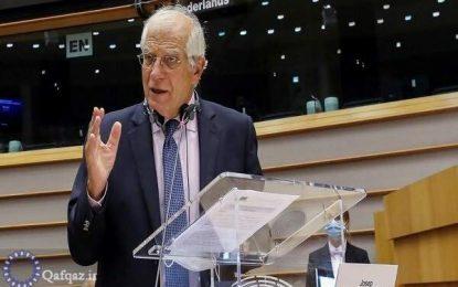 مسئول سیاست خارجی اتحادیه اروپا خواستار توقف فوری درگیرها میان ارتش ارمنستان و جمهوری آذربایجان شد
