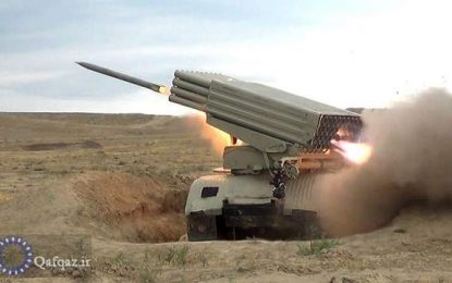 برگزاری رزمایش تاکتیکی از سوی ارتش جمهوری آذربایجان / تصاویر