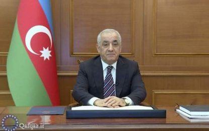 درخواست نخست وزیر جمهوری آذربایجان از سازمان های دولتی بر صرفه جویی در مصرف بودجه