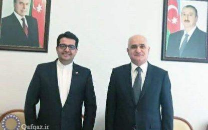 دیدار سفیر ایران در باکو با معاون نخست وزیر آذربایجان
