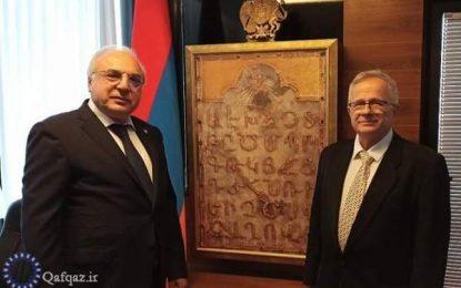رژیم اشغالگر ارمنستان رسما سفارت خود را در فلسطین اشغالی افتتاح کرد