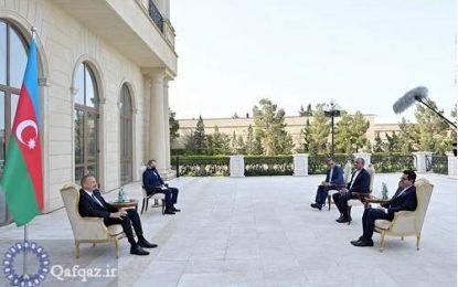 گسترش روابط تهران و باکو
