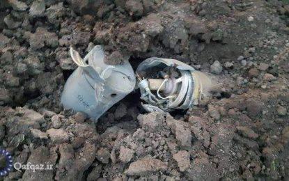 استفاده از بمبهای خوشهای در حمله به شهرستان برده آذربایجان از سوی ارمنستان/ عکس