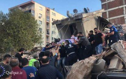 وقوع زمین لرزه ۶.۶ ریشتری در ازمیر ترکیه / فیلم+ عکس