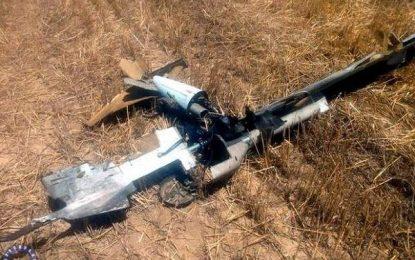 سرنگون شدن پهپاد متجاوز ارمنستان توسط پدافند هوایی آذربایجان