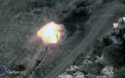 انهدام چند پایگاه ارمنستان از سوی ارتش آذربایجان